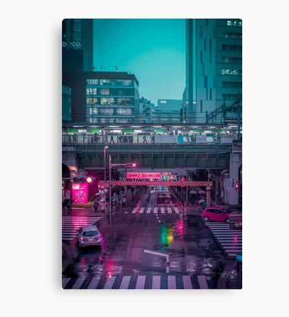 Neo Tokyo Metropolis Canvas Print