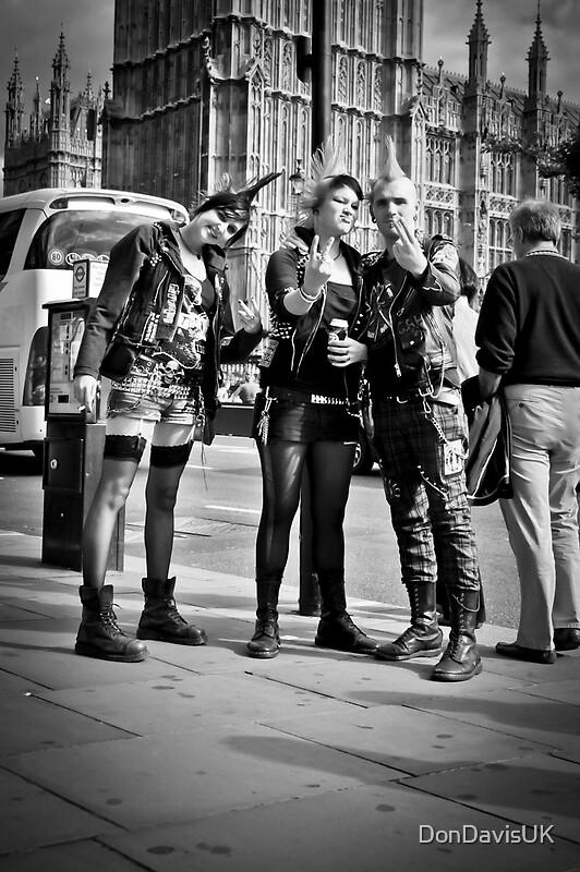 Quot Punks In London Punk Rockers Quot Posters By Dondavisuk