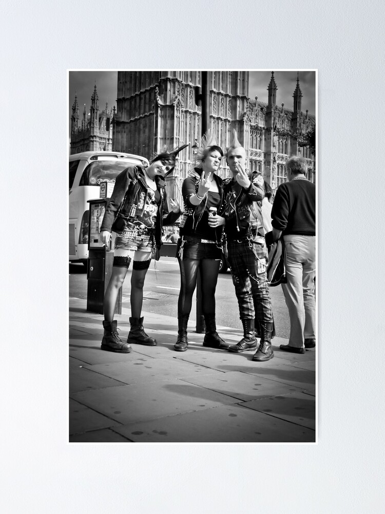 Alternate view of Punks in London: Punk Rockers Poster