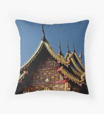 Ornate Temple Throw Pillow