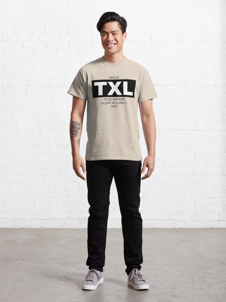 Alternate view of Berlin Tegel Airport TXL Classic T-Shirt