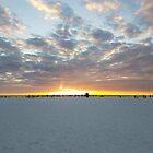 Sonnenuntergang am Strand von TheBankArtist