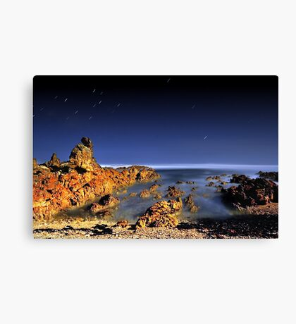 When the Night Comes Falling .... Canvas Print