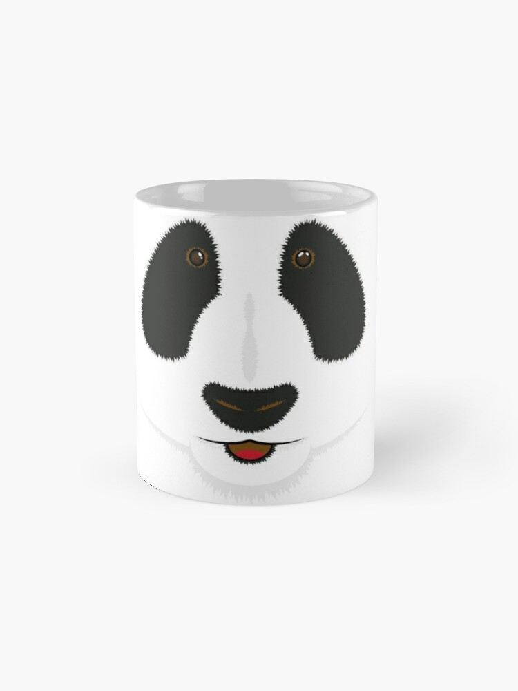 Alternate view of Panda face Mug