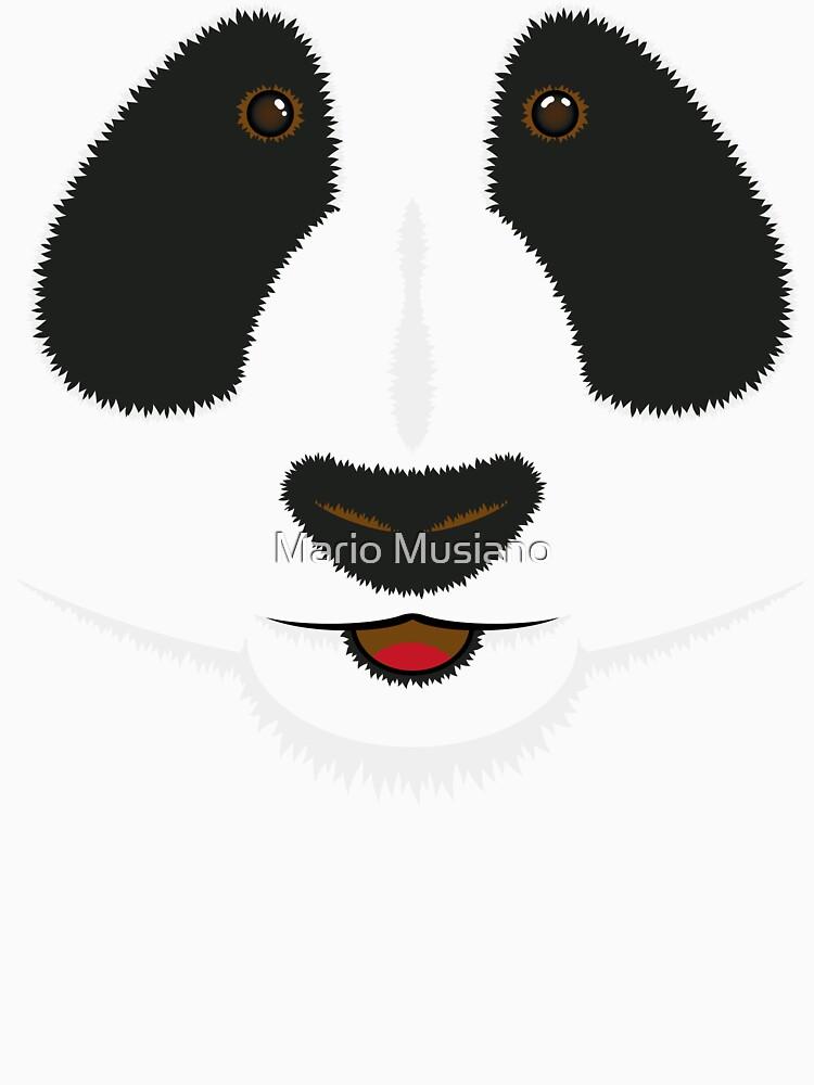 Panda face by paplop