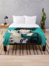 Deku! Throw Blanket