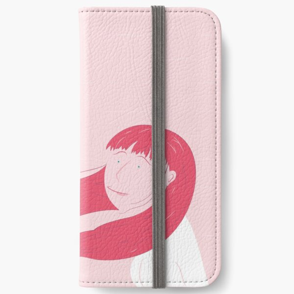 Lady flower iPhone Wallet