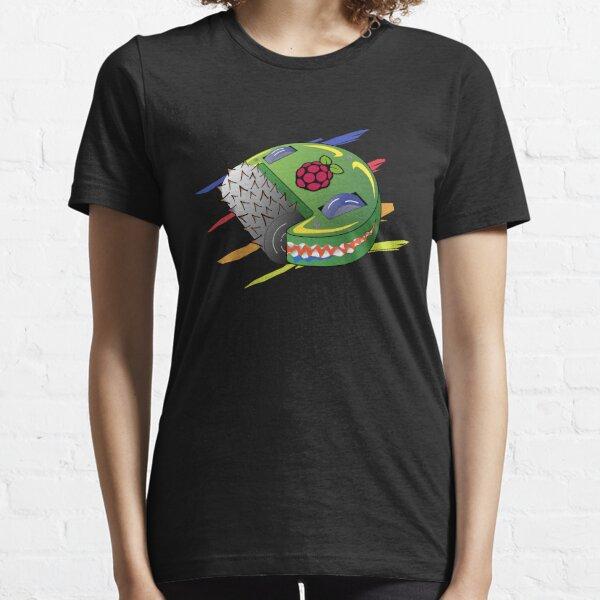 Battle robot with heart raspberry pi Essential T-Shirt