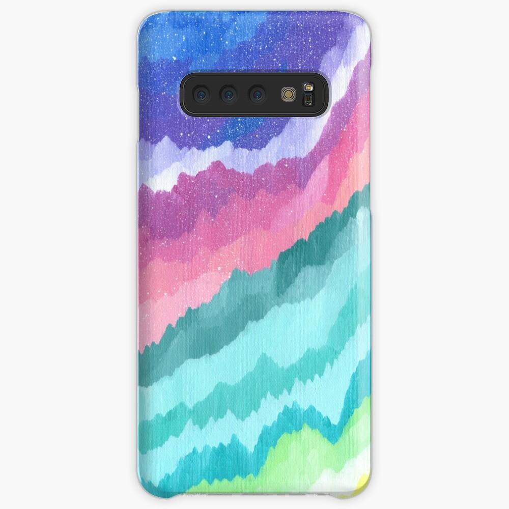 Acrylic Mountains #1 Case & Skin for Samsung Galaxy