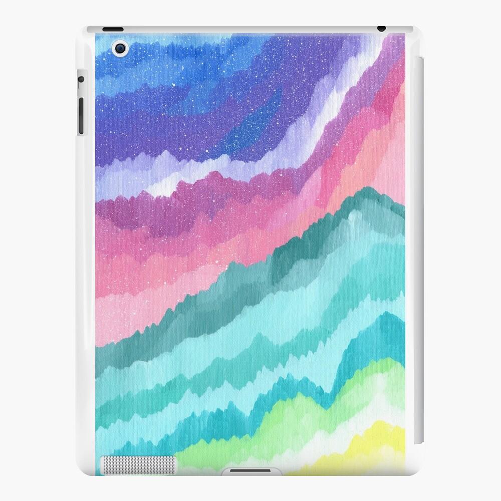 Acrylic Mountains #1 iPad Cases & Skins