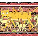 Cats by jackteagle