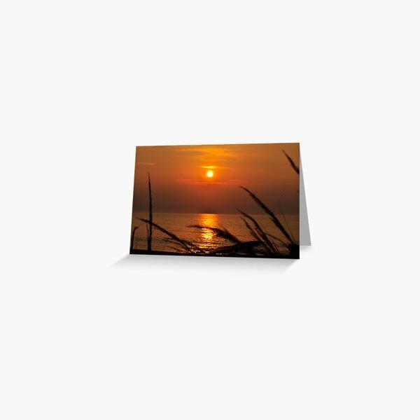 Simple Sunrise Greeting Card