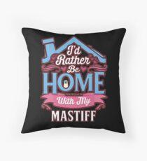 Cojín de suelo  I'd Rather Be Home With My Mastiff - Mastiff