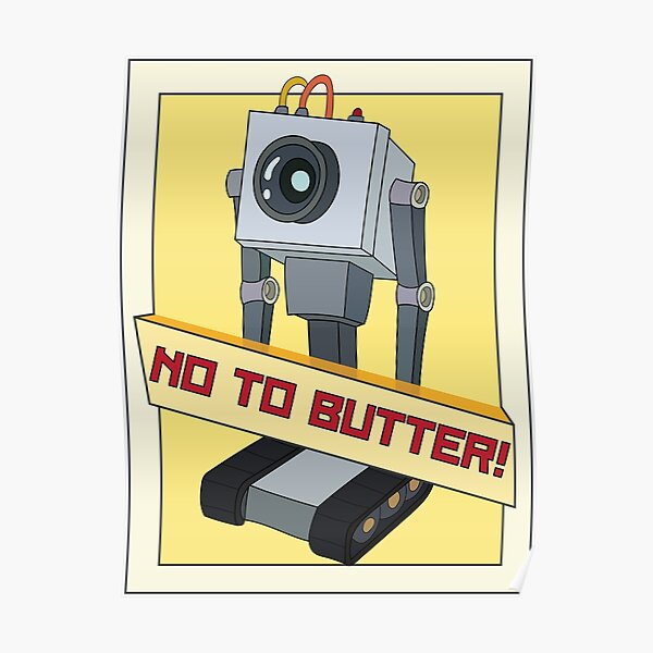 No To Butter! Poster
