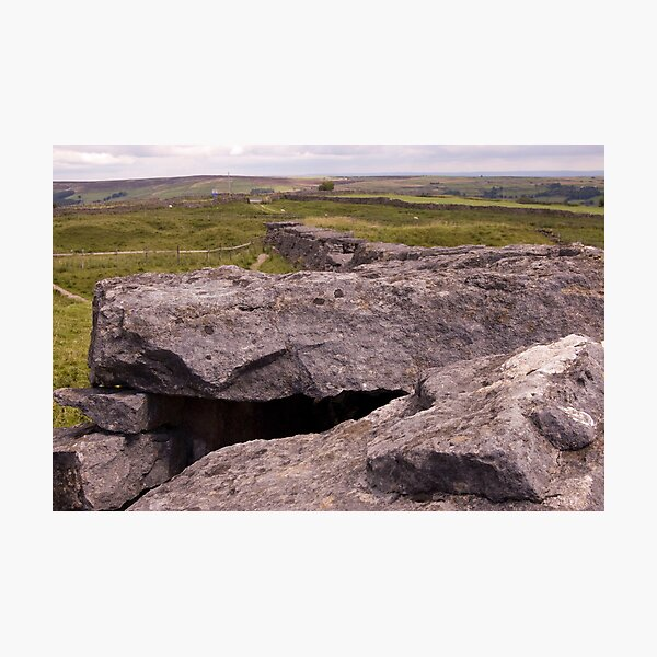 Dales view from Toft Gate Lime Kiln Photographic Print