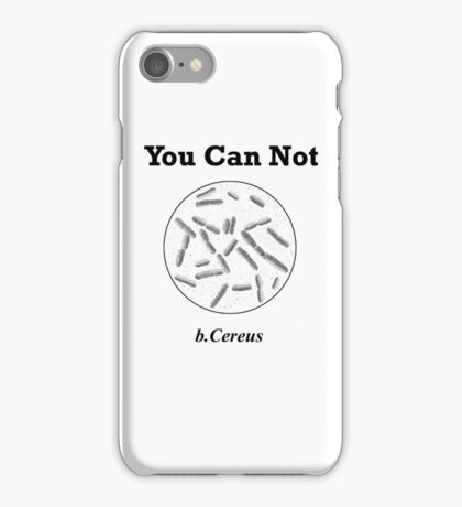 Cereus Trouble  iPhone Case/Skin