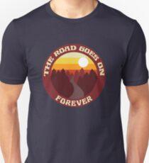 Die Straße geht ewig weiter - ABB Slim Fit T-Shirt