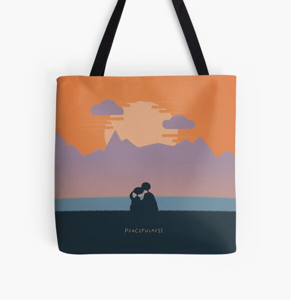 Peacefulness All Over Print Tote Bag
