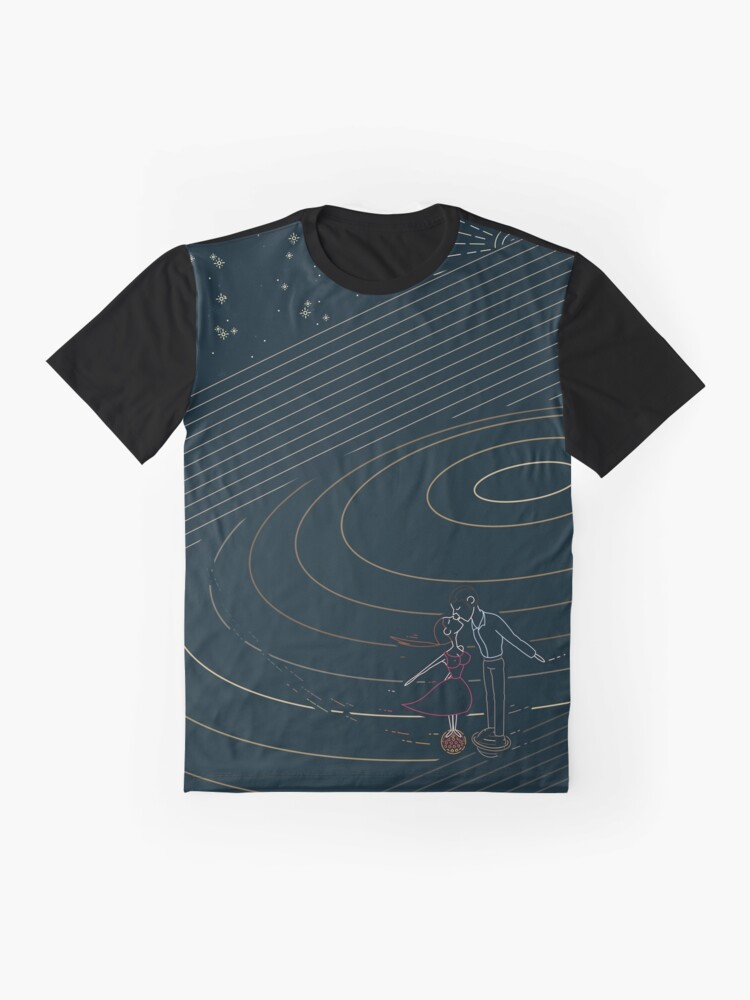 """Alternate view of Attraction / """"LuiLei"""" Graphic T-Shirt"""
