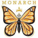 Monarch  by rainydaydreams