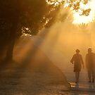 Re Island - Misty Morning. by Jean-Luc Rollier