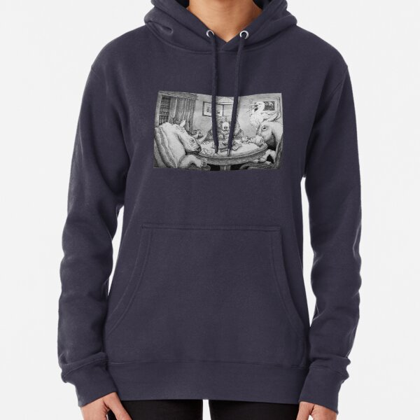 I Call Your Bread, and I'll Raise You Toast Pullover Hoodie