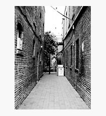 Quiet Alley Photographic Print