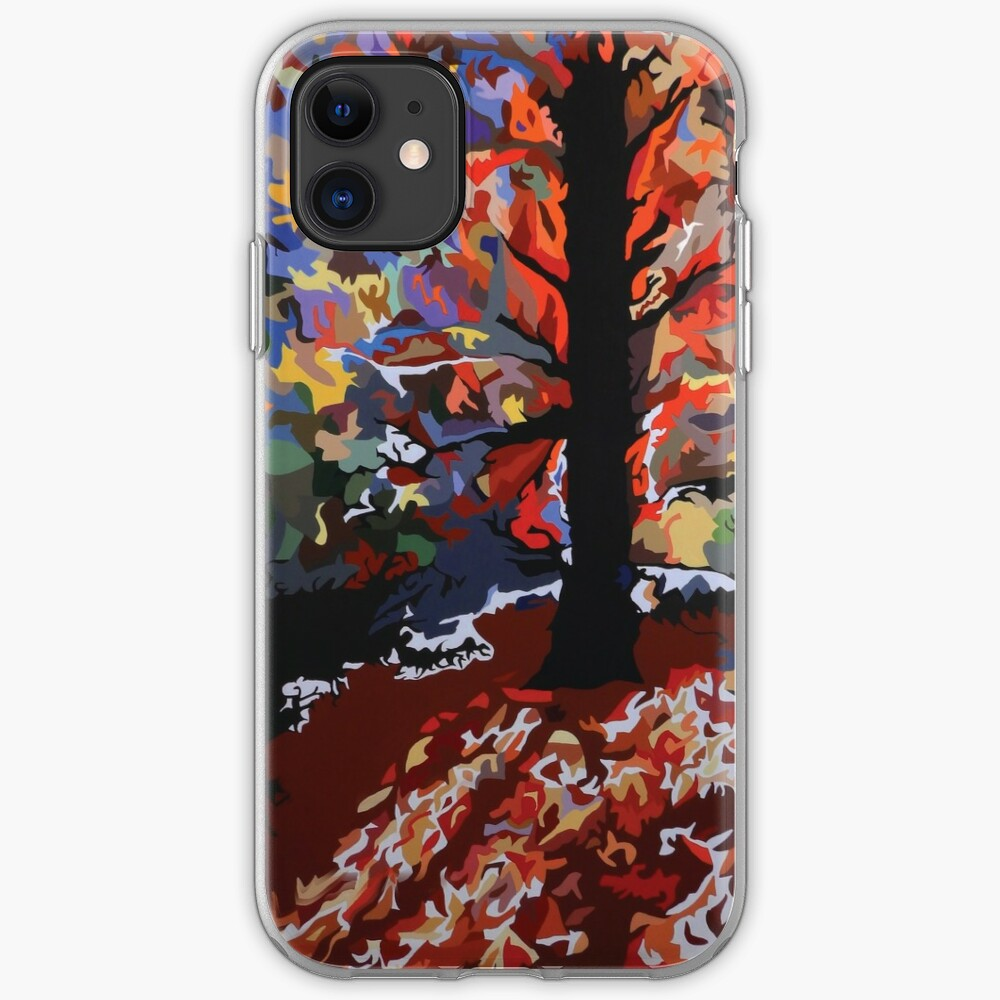 Fall Fireworks iPhone Soft Case