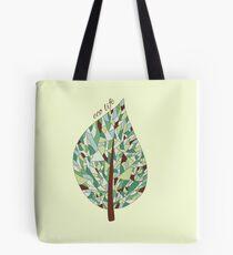Ecology card design  Tote Bag