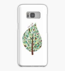 Ecology card design  Samsung Galaxy Case/Skin
