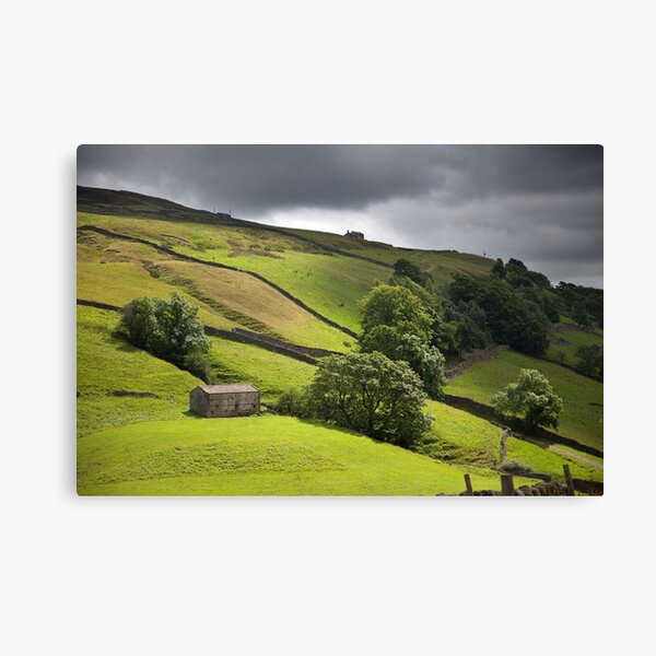 The Passing Swaledale Light Canvas Print