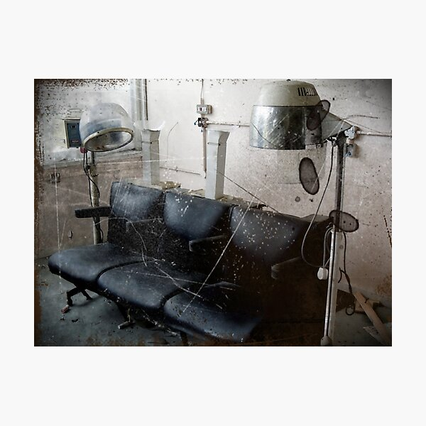 They Say It's Important to Care About How You Look ~ West Park Asylum Photographic Print