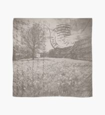 Vintage Style Postcard Calleva Roman Wall, Silchester Scarf