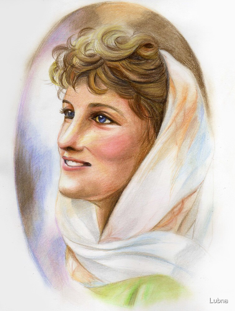 Lady Diana: second of three series by Lubna