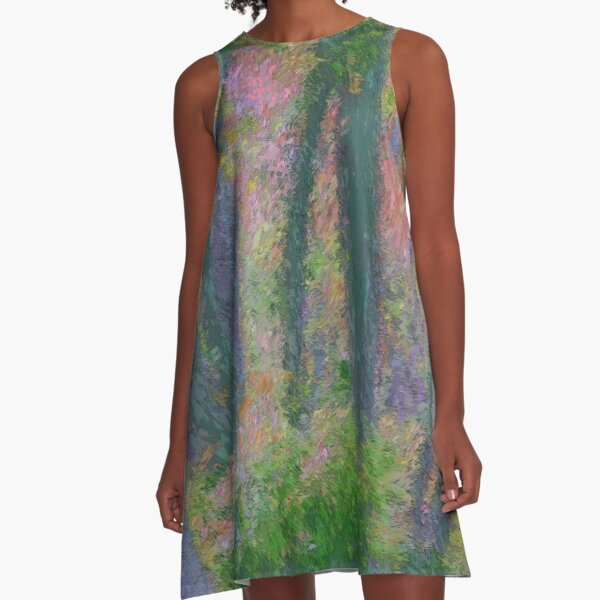 Private Spaces Off The Trail A-Line Dress