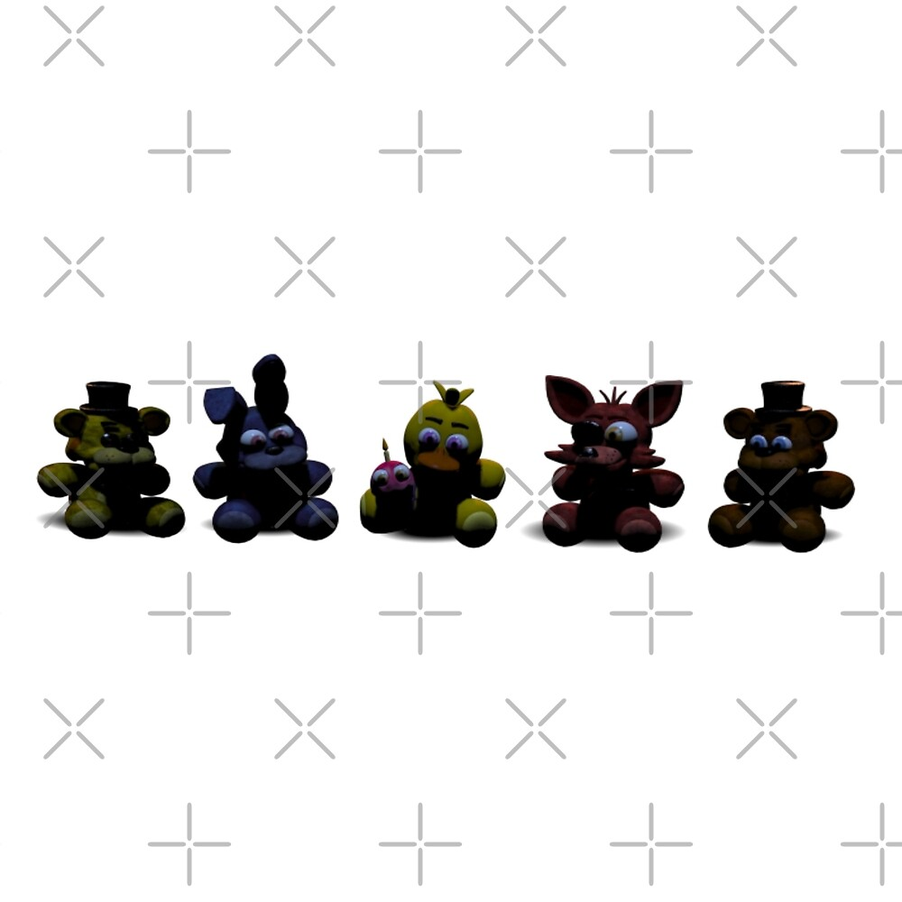 how to get all plushies fnaf 2