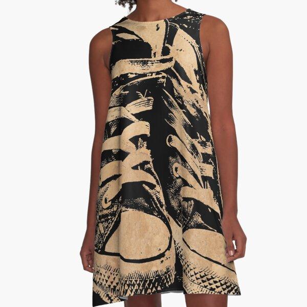 Ramones Punk Rock A-Line Dress