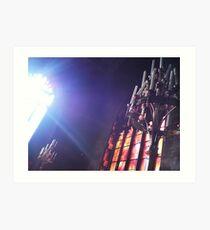Candelabrum - Manchester Cathedral Art Print