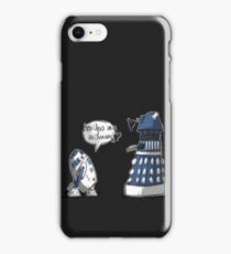 Are you my mummy? - BLUE version iPhone Case/Skin