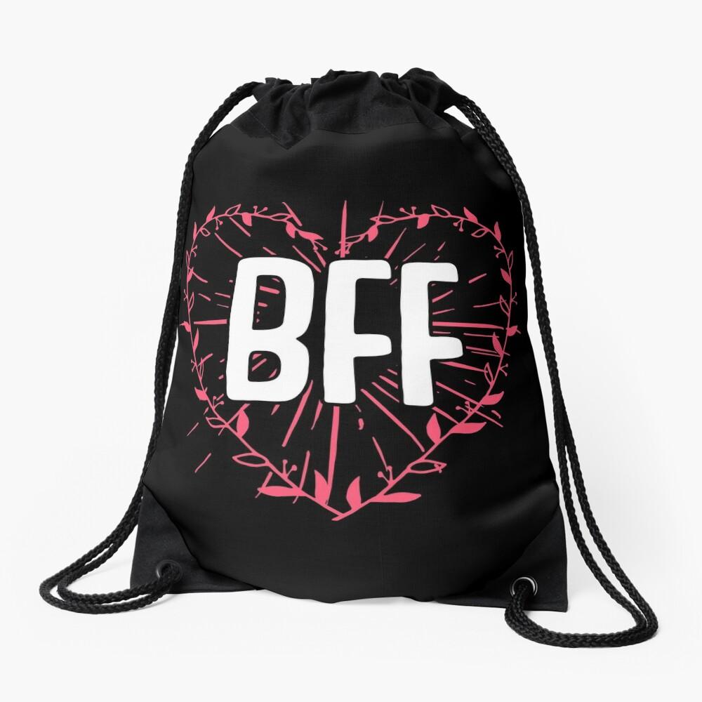 BFF Best Friends Forever Besties Goals Gift Idea Turnbeutel