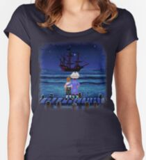Guybrush & Stan (Monkey Island) Women's Fitted Scoop T-Shirt