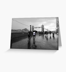 Tower Squall Greeting Card