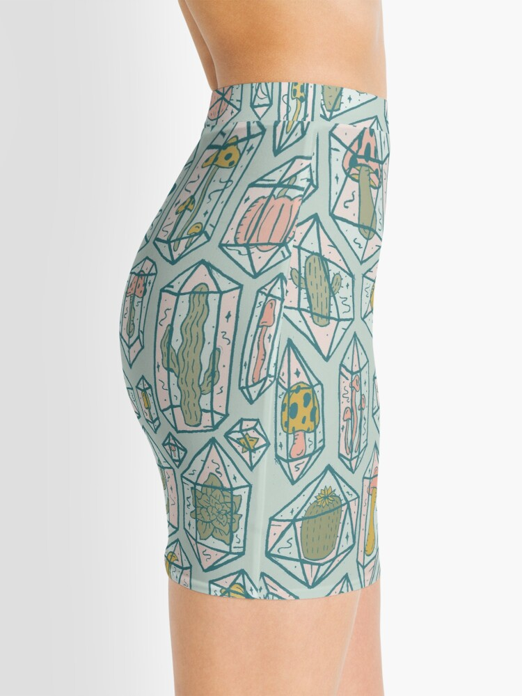Alternate view of Crystals and Plants Mini Skirt