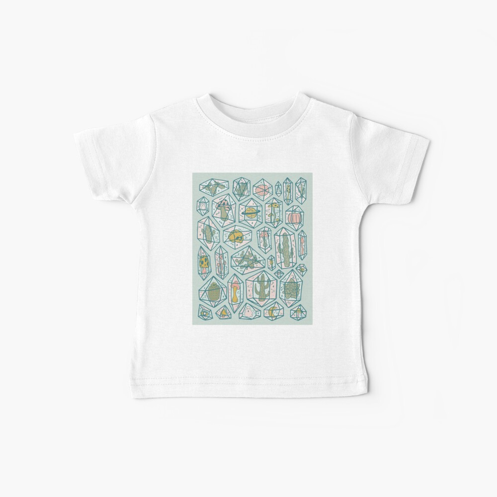 Crystals and Plants Baby T-Shirt