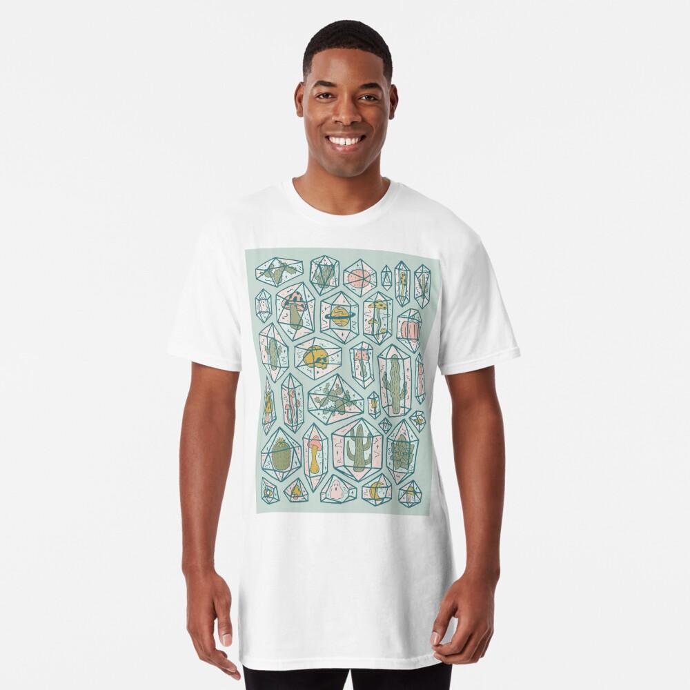 Crystals and Plants Long T-Shirt