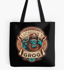 Ghost Pirate Grog Tote Bag