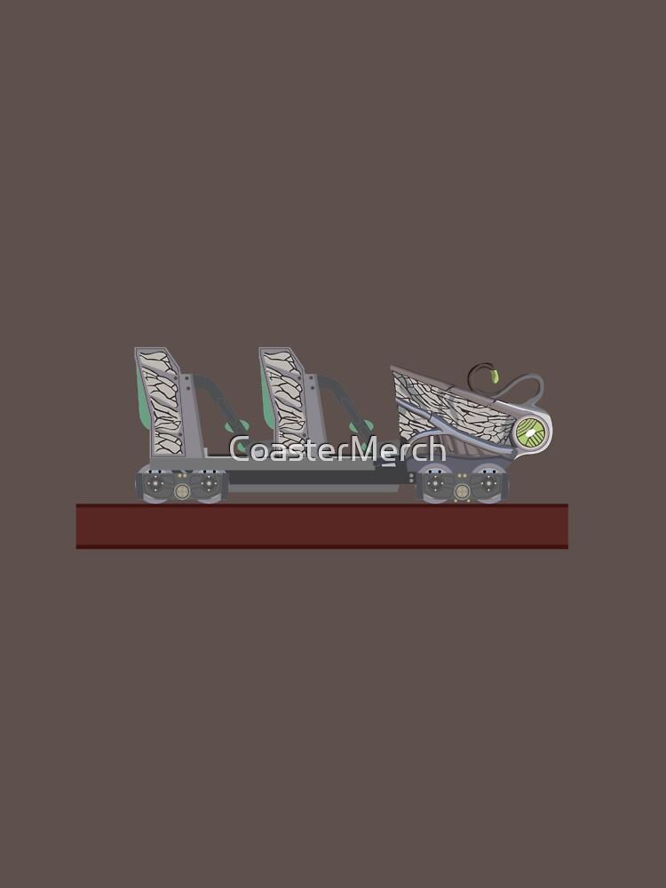 Untamed - Walibi Holland Rollercoaster Car by CoasterMerch