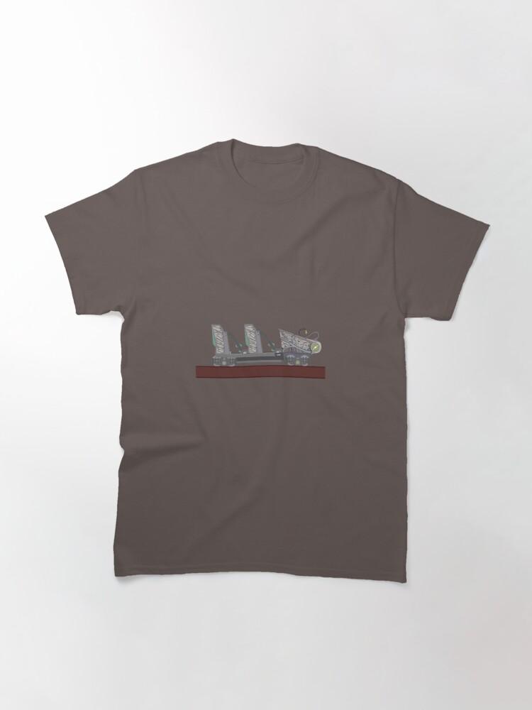 Alternate view of Untamed - Walibi Holland Rollercoaster Car Classic T-Shirt