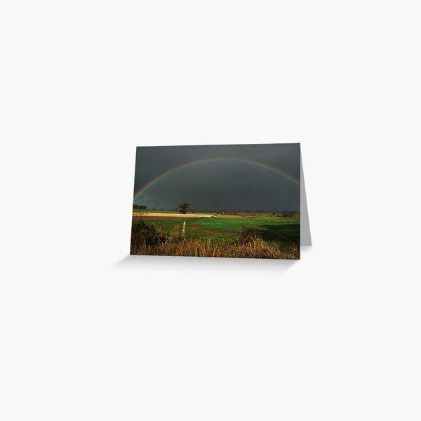 A Cranbrook Rainbow Greeting Card