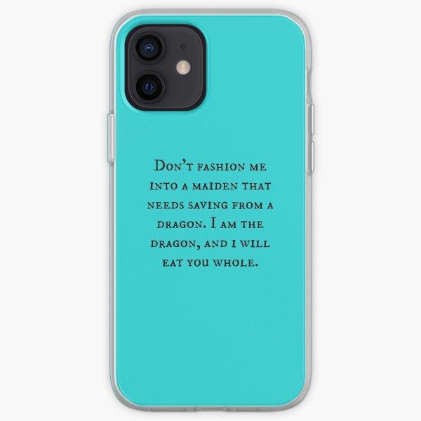 Dragon of Feminism 2 iPhone Soft Case